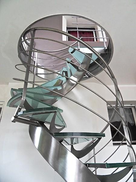 Escalier et garde corps m talliques nord pas de calais - Escalier debillarde ...
