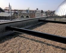 Chevêtre sur toiture