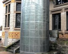 Cage d'escalier en ossature métallique