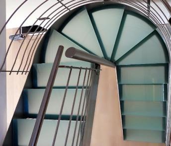 escalier helicoidal nord
