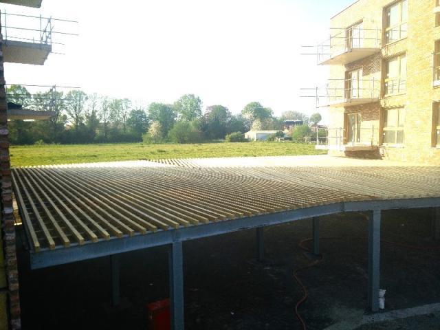 Carport / Structure métallique