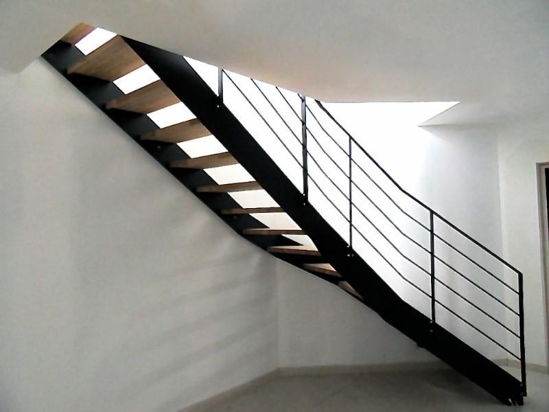 Escalier et garde corps m talliques nord pas de calais escalier m tallique - Escalier limon lateral ...